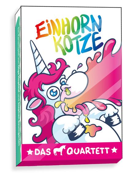 Einhornkotze - Das Einhorn-Quartett --- SPHINX NEUHEIT 2017