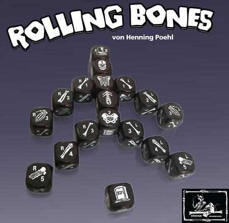 Rolling Bones - Würfelspiel Auslage