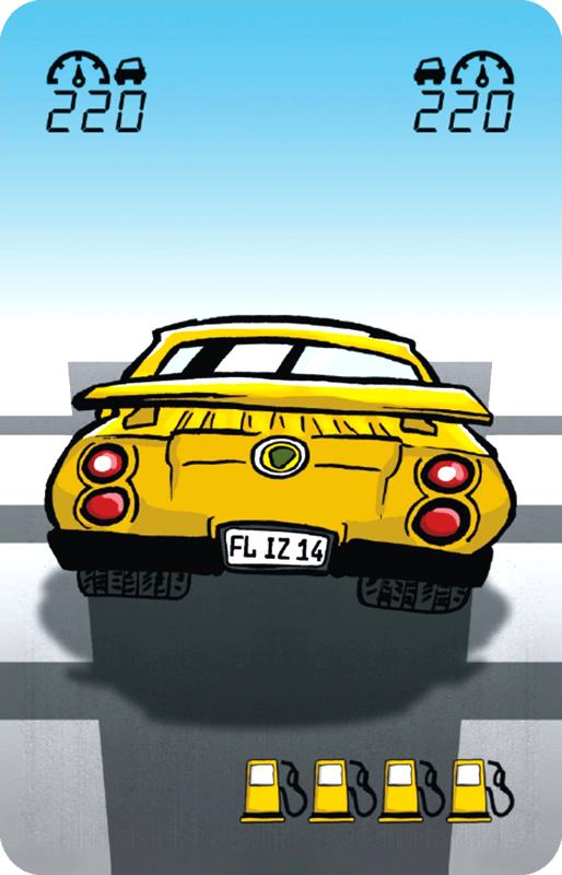 Auto mit 220 km/h